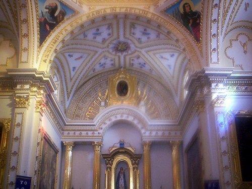 Paseo por Mexico Interior de Parroquia de Nuestra Señora de la Asunción en Tecamachalco