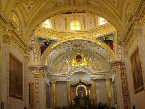 Paseo por Mexico Iglesia de San Sebastián Mártir en Tecamachalco
