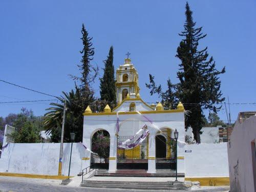 Paseo por Mexico Templo del Señor del Calvario en Tecamachalco