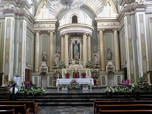 Paseo por Mexico Interior de Catedral de la Inmaculada Concepción en Tehuacán