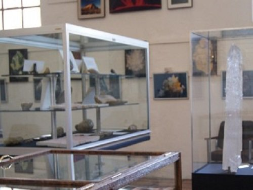 Paseo por Mexico Museo de Mineralogía de Tehuacán