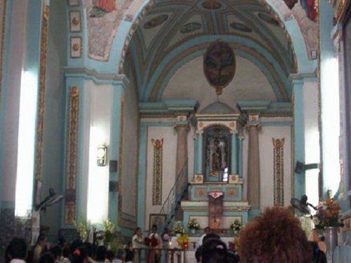 Paseo por Mexico Interior de Iglesia Parroquial de San Juan Bautista en Teotlalco