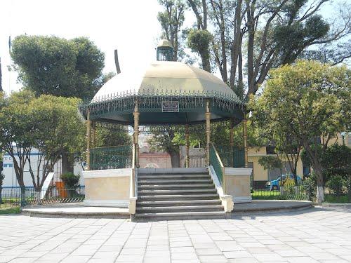Paseo por Mexico Kiosco de Tepatlaxco de Hidalgo