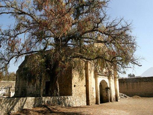 Paseo por Mexico Ermita de San Pedro o Tepeyahualqui en Tepeyahualco