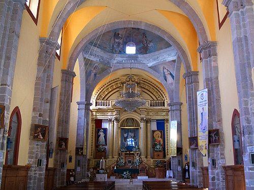 Paseo por Mexico Interior de Iglesia de Santa Maria de la Asunción en Tetela de Ocampo
