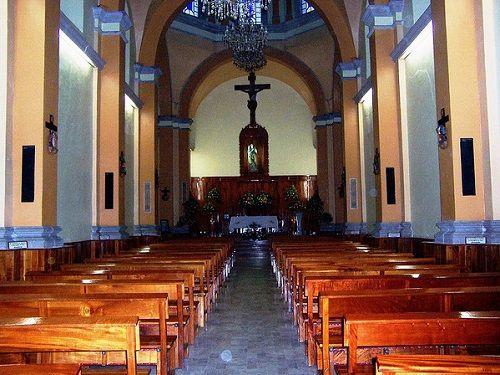 Paseo por Mexico Interior de Parroquia de San Rafael Arcángel en Teziutlán