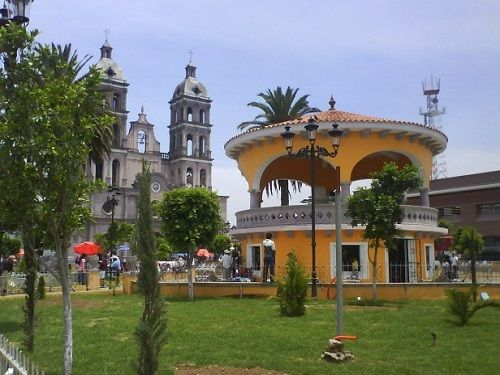 Paseo por Mexico Kiosco de Teziutlán