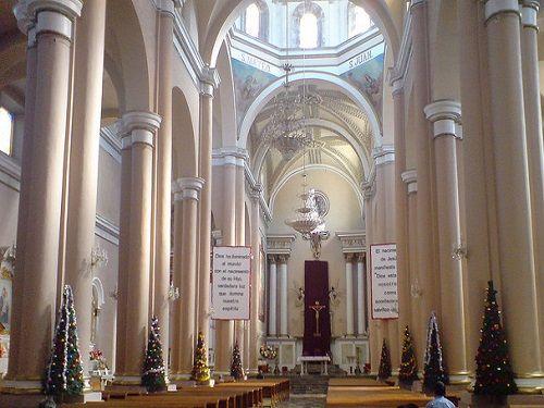 Paseo por Mexico Interior de Catedral de Teziutlán