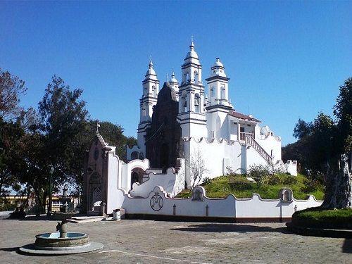 Paseo por Mexico Santuario Nuestra Señora del Carmen en Teziutlán