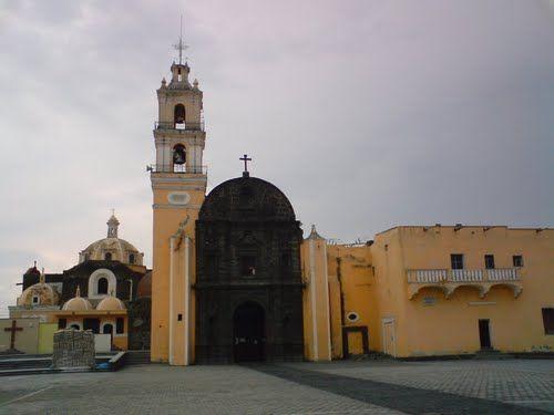 Paseo por Mexico Templo de San Juan Bautista en Tianguismanalco