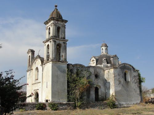 Paseo por Mexico Iglesia de la ex hacienda de San Felix Rijo en Tilapa