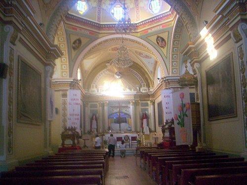 Paseo por Mexico Interior de Santuario de Nuestro Señor de Tlacotepec de Benito Juárez