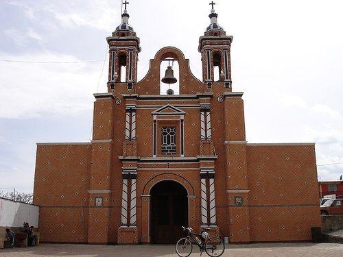 Paseo por Mexico Iglesia de Santa Rita en Tlahuapan