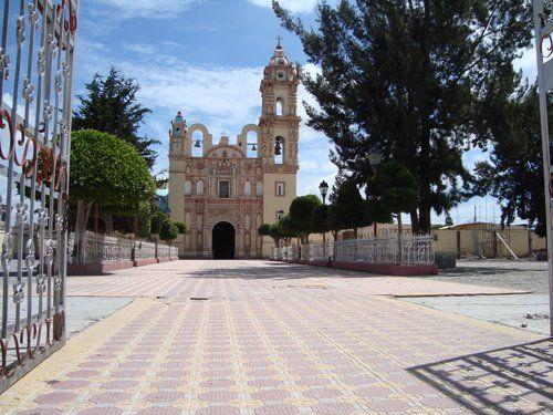 Paseo por Mexico Iglesia de Santa Isabel en Tlanepantla