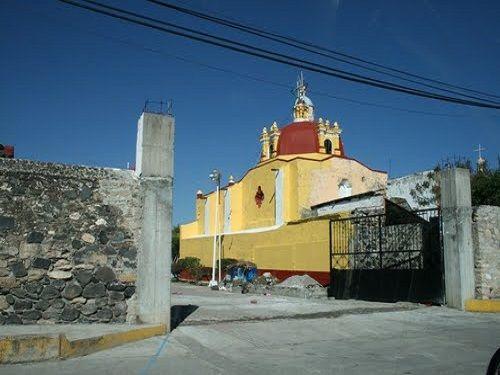 Paseo por Mexico Parroquia de Santo Tomás de Aquino en Tlapanalá