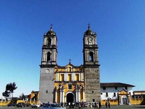Paseo por Mexico Ex convento de María Asunción en Tlatlauquitepec