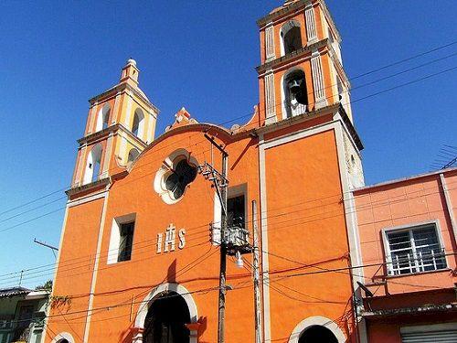 Paseo por Mexico Templo del Sagrado Corazón de Jesús en Tlatlauquitepec