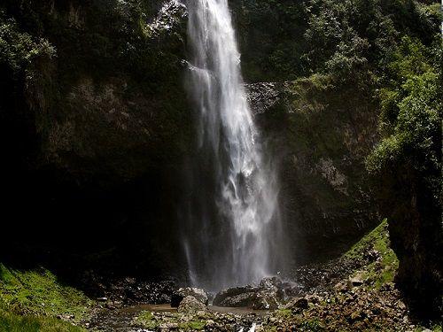 Paseo por Mexico Cascada de Puxtla en Tlatlauquitepec