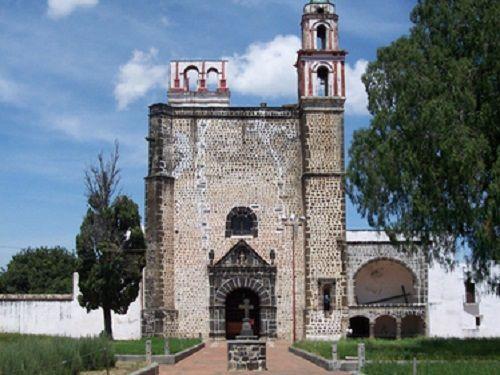 Paseo por Mexico Ex-convento de la Asunción de Nuestra Señora de Tochimilco