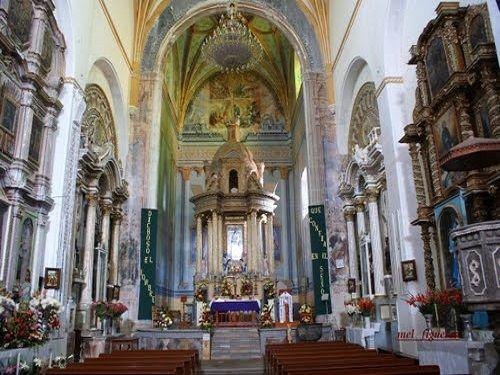 Paseo por Mexico Interior de Ex-convento de la Asunción de Nuestra Señora de Tochimilco