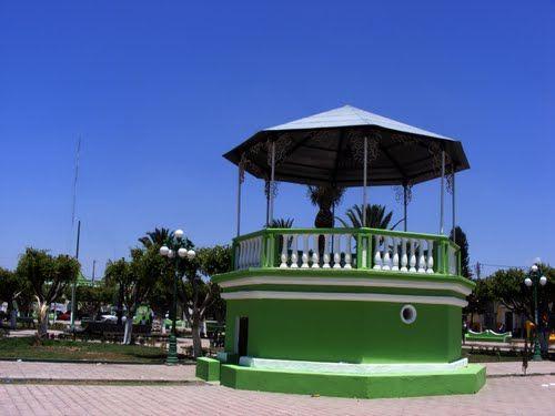 Paseo por Mexico Kiosco de Tochtepec