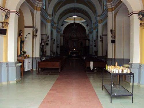 Paseo por Mexico Interior de Templo en advocación al Señor de la Salud en Totoltepec de Guerrero