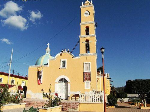 Paseo por Mexico Iglesia de San Gabriel en Tulcingo