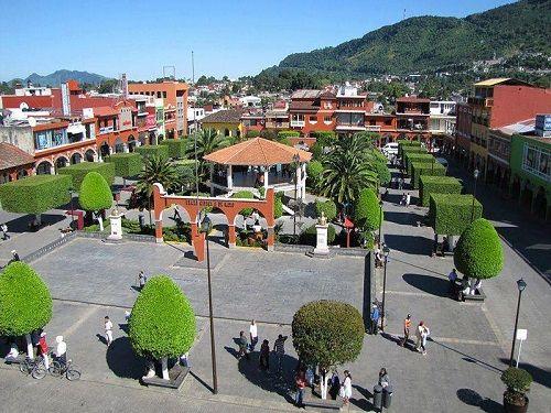 Paseo por Mexico Zócalo de Xicotepec