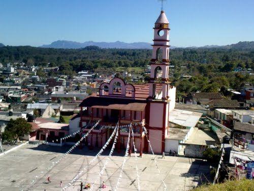 Paseo por Mexico Iglesia dedicada a San Juan Bautista en Xiutetelco