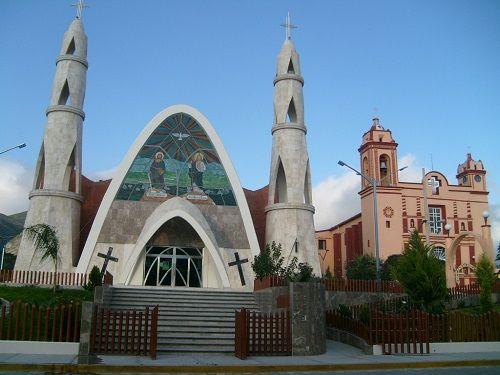 Paseo por Mexico Templo parroquial de San Simón en Yehualtepec