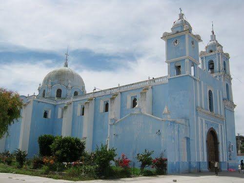 Paseo por Mexico Templo de San Gabriel Telzoyocan en Yehualtepec