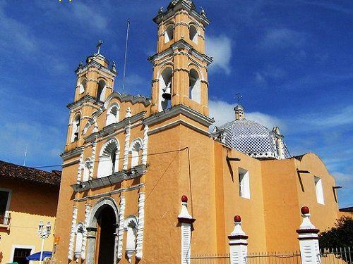 Paseo por Mexico Capilla del señor de Esquipulas en Zacapoaxtla