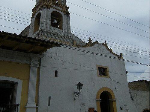 Paseo por Mexico Capilla de Santa Gertrudis en Zacapoaxtla