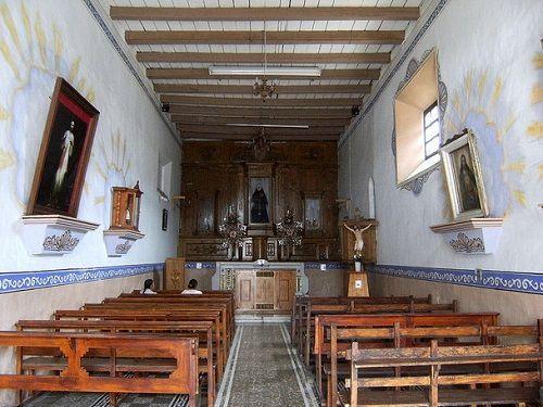 Paseo por Mexico Interior de Capilla de Santa Gertrudis en Zacapoaxtla