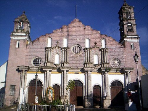 Paseo por Mexico Templo Virgen de Guadalupe en Zacapoaxtla