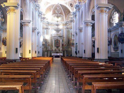 Paseo por Mexico Interior de Templo Virgen de Guadalupe en Zacapoaxtla