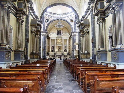 Paseo por Mexico Interior de Parroquia de San Pedro y San Pablo en Zacatlán