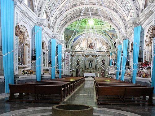 Paseo por Mexico Interior de Parroquia de San Martín Obispo de Tours en Zapotitlán