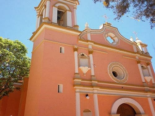 Paseo por Mexico Templo de San Francisco de Asís en Zapotitlán