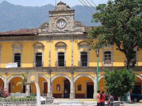 Paseo por Mexico Palacio Municipal Zapotitlán de Méndez