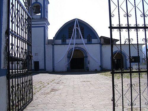 Paseo por Mexico Iglesia de Santísima Virgen de la Concepción en Zongozotla