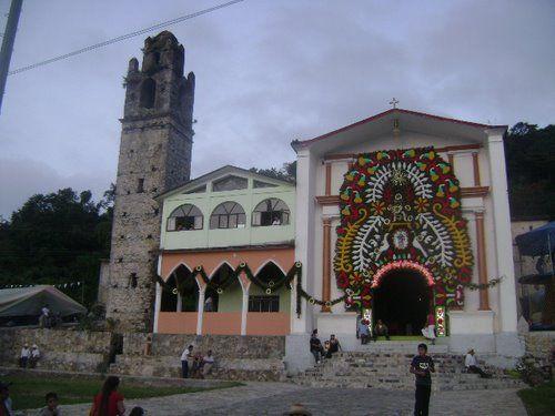 Paseo por Mexico Iglesia de San Francisco de Asís en Zoquiapan