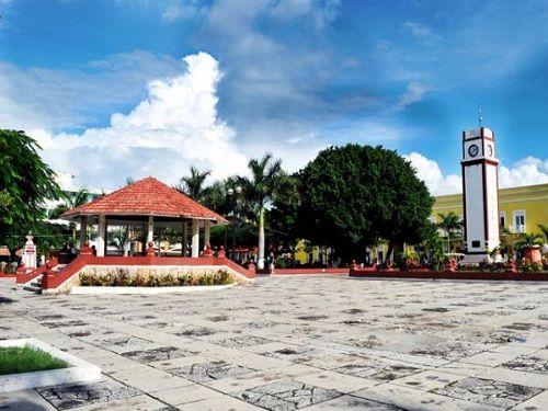 Paseo por Mexico Parque Benito Juárez de Cozumel