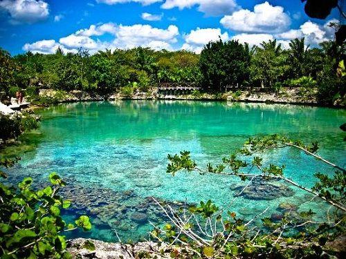 Paseo por Mexico Parque Natural Chankanaab en Cozumel