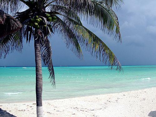 Paseo por Mexico Playa de San Juan en Cozumel