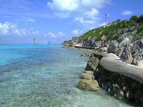 Paseo por Mexico Playa Encantada en Cozumel
