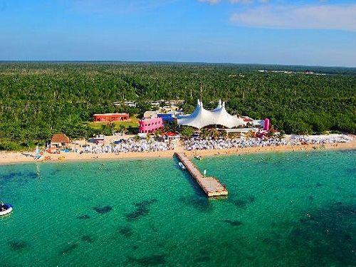 Paseo por Mexico Playa Mia Grand Beach Park en Cozumel