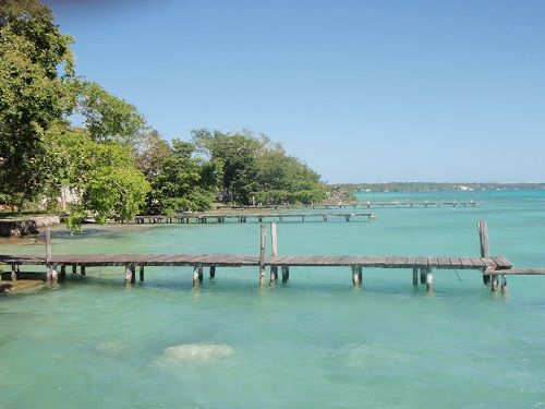 Paseo por Mexico Laguna Azul en Felipe Carrillo Puerto