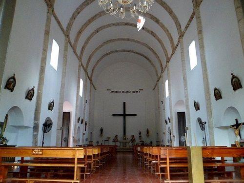 Paseo por Mexico Interior de Parroquia de la Santa Cruz en Felipe Carrillo Puerto
