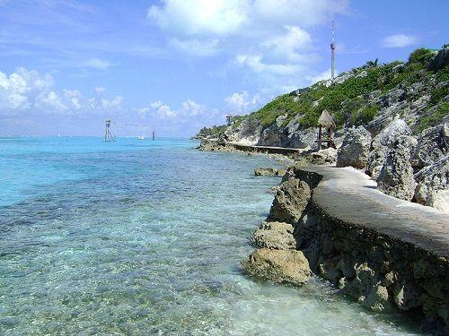 Paseo por Mexico Punta Sur en Isla Mujeres